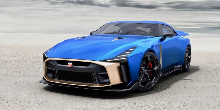 نیسان GT-R50 با طراحی ایتال دیزاین تولید خواهد شد + عکس