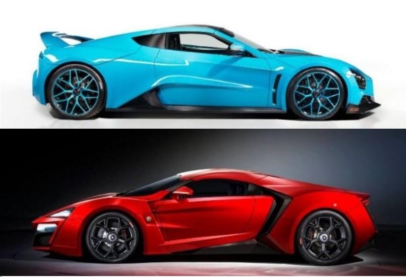 بررسی و مقایسه لایکن هایپر اسپرت و زنوو TS1 GT + تصاویر