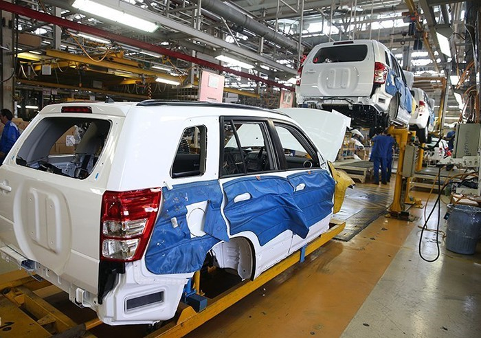 آمار وضعیت تولید خودروهای افزایش قیمت یافته در آذر ماه ۹۷