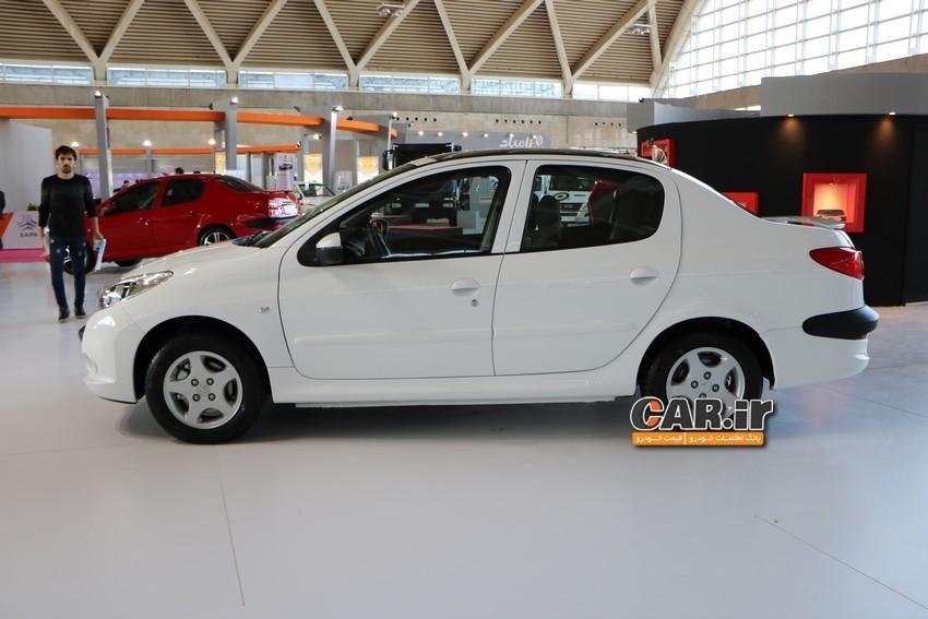 اضافه شدن پژو 207 با سقف پانوراما در سبد فروش محصولات ايران خودرو