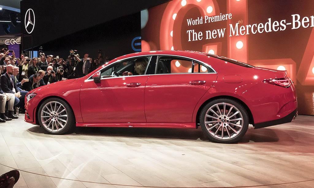 نسل جدید مرسدس بنز CLA در نمایشگاه CES معرفی شد