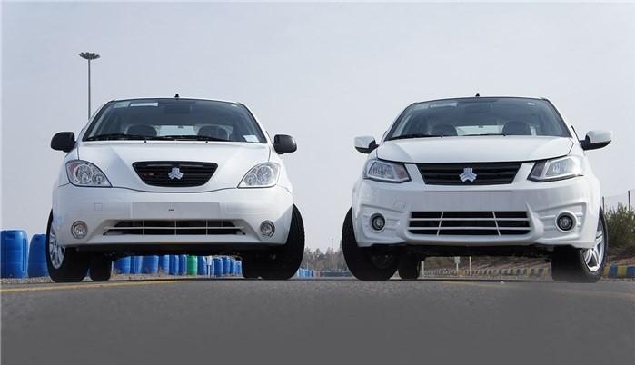 اعلام قیمت جدید کارخانه ای خودروهای تیبا و ساینا - دی 97