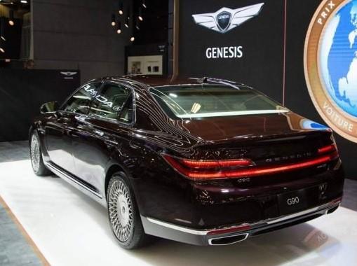 خودروی لوکس جنسیس G90 مدل ۲۰۲۰ معرفی شد + عکس