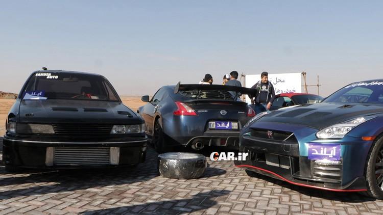 گزارش راند چهارم مسابقات شتاب ایران + فیلم شتاب گیری نیسان GTR