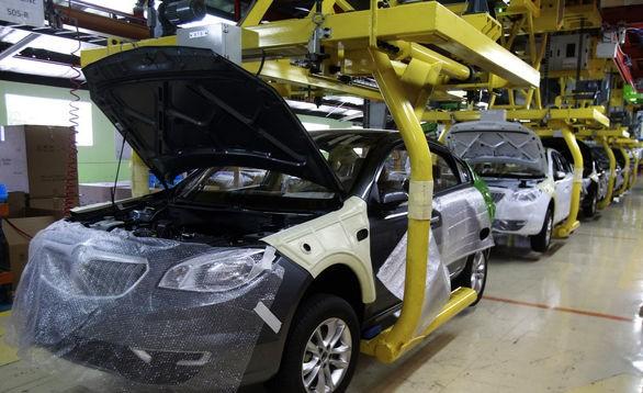 رشد تولید روزانه خودروهای سواری در شرکت سایپا