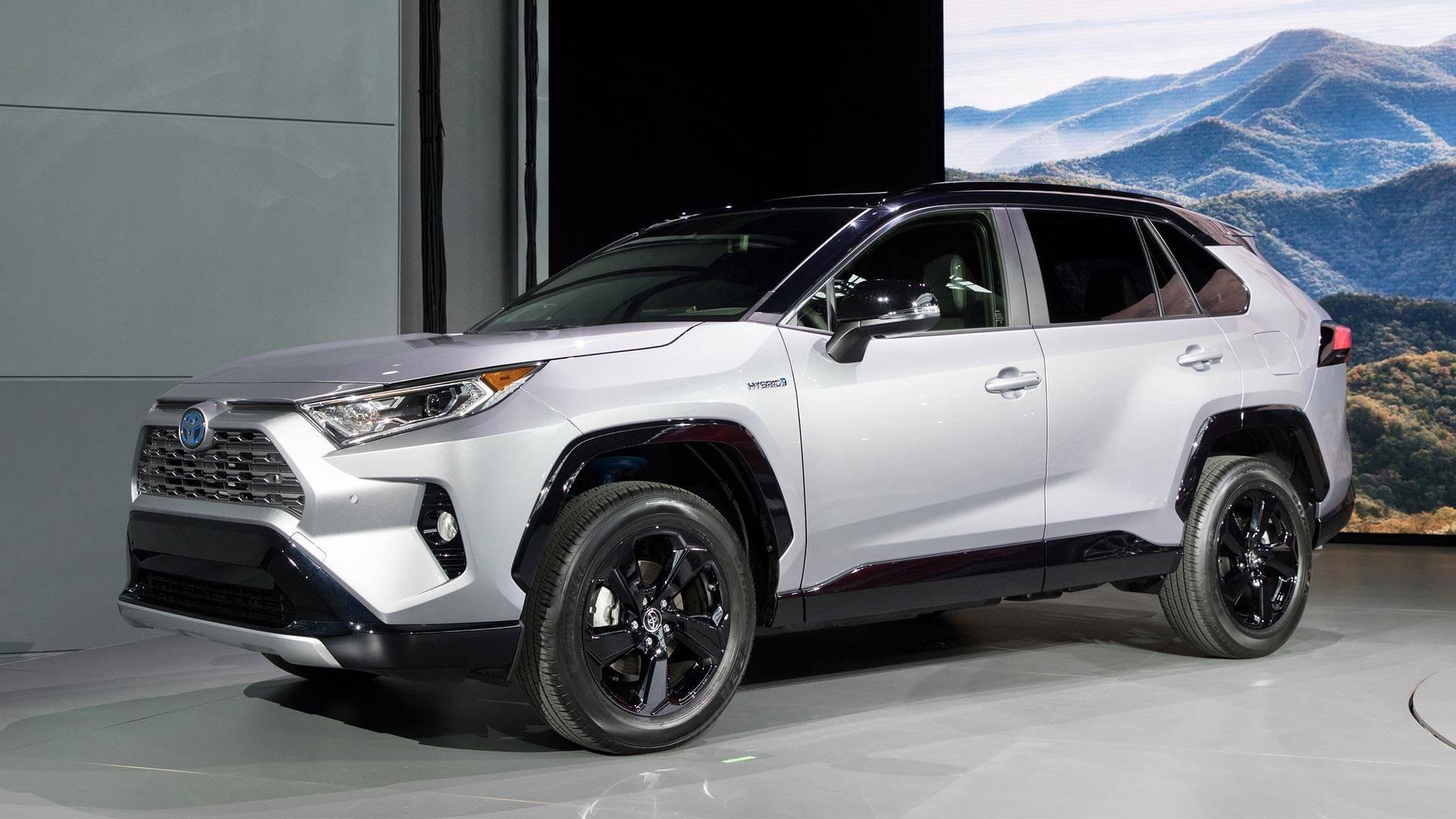 انتشاراطلاعات تکمیلی از تویوتا RAV4 مدل 2019