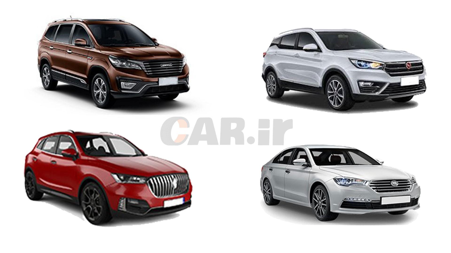 نگاهی به آمار فروش خودروهای چینی مونتاژی در خود چین!