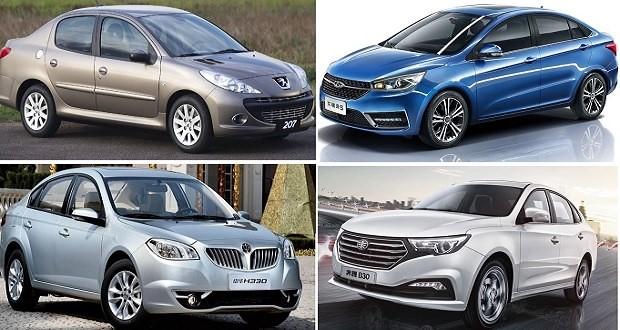 چه خودروهایی را می توان در بازه قیمتی ۱۰۰ تا ۱۵۰میلیونی در بازار خرید؟ +جدول