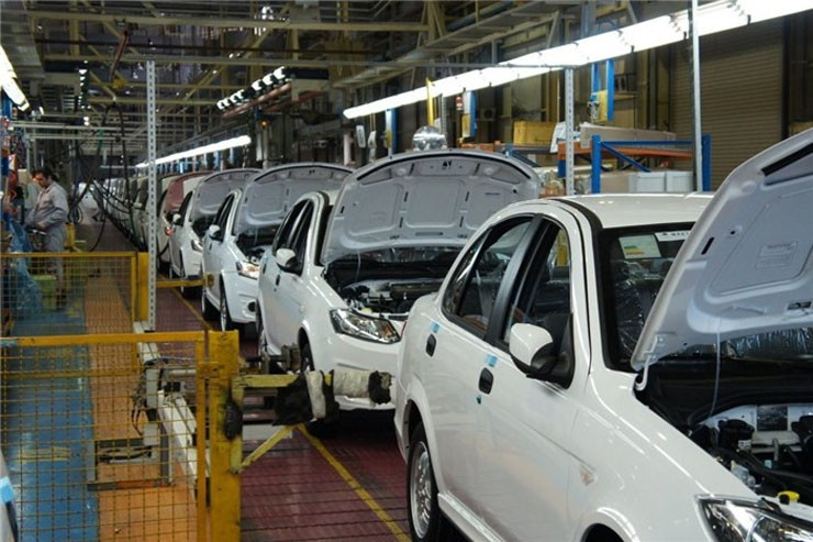کور سوی امید در خطوط تولید خودروسازان کشور