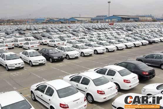 خودروهای ناقص در کف کارخانه ایرانخودرو و سایپا به ۴۵هزار دستگاه رسید