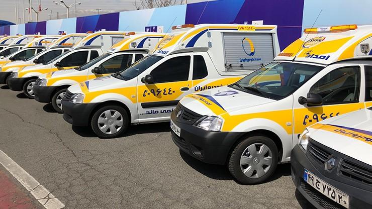 آماده باش خدمات پس از فروش ایران خودرو در استان های سیل زده