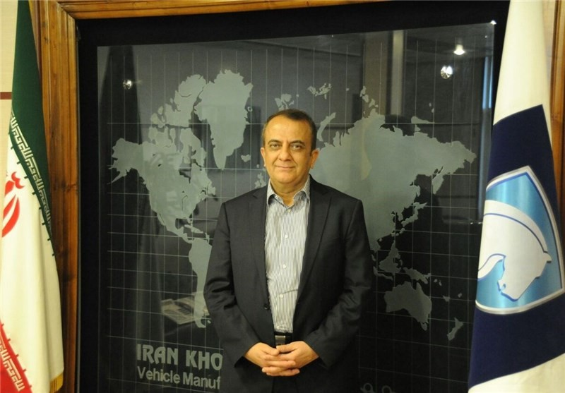 مدیر عامل ایران خودرو : صنعت خودرو کشور جان گرفته است