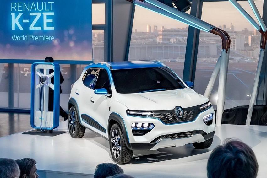 آشنایی با خودروی الکتریکی جدید رنو + عکس