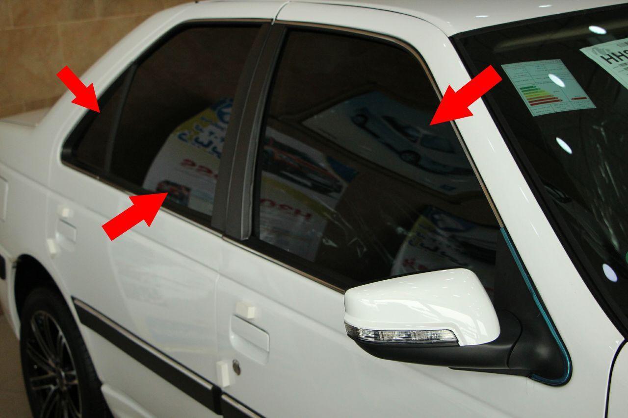 اعلام مبلغ جریمه برای شیشه دودی غیرمتعارف خودروها