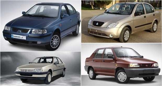 جدول قیمت جدید خودروهای داخلی در بازار تهران - سه شنبه ۳ اردیبهشت 98
