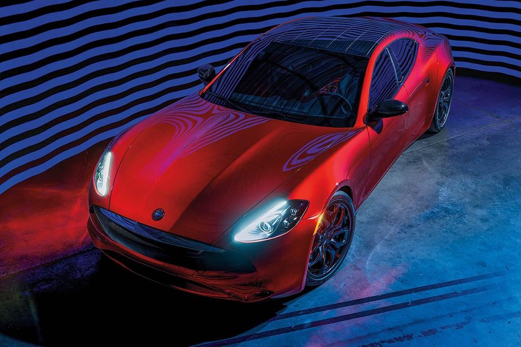 آشنایی با کارما رِوِرو GT جدید با پیشرانهٔ بامو و وزن کمتر + عکس