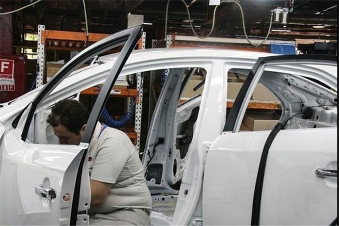 مرکز آمار: رشد تورم تولید صنعت خودرو در زمستان ۹۷