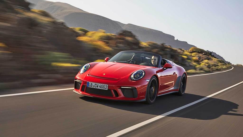 اعلام قیمت و مشخصات پورشه 911 اسپیدستر جدید + تصاویر