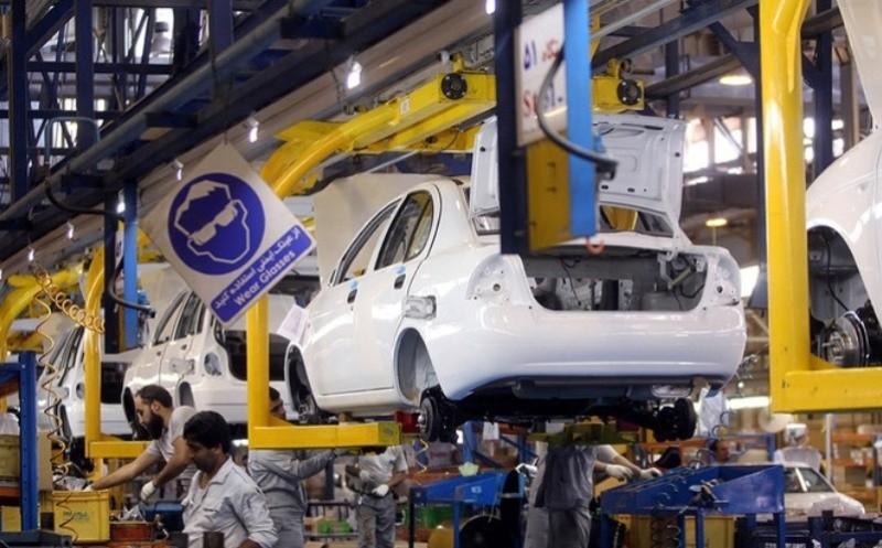 کاهش تولید خودروهای سواری در فروردین ماه ۹۸