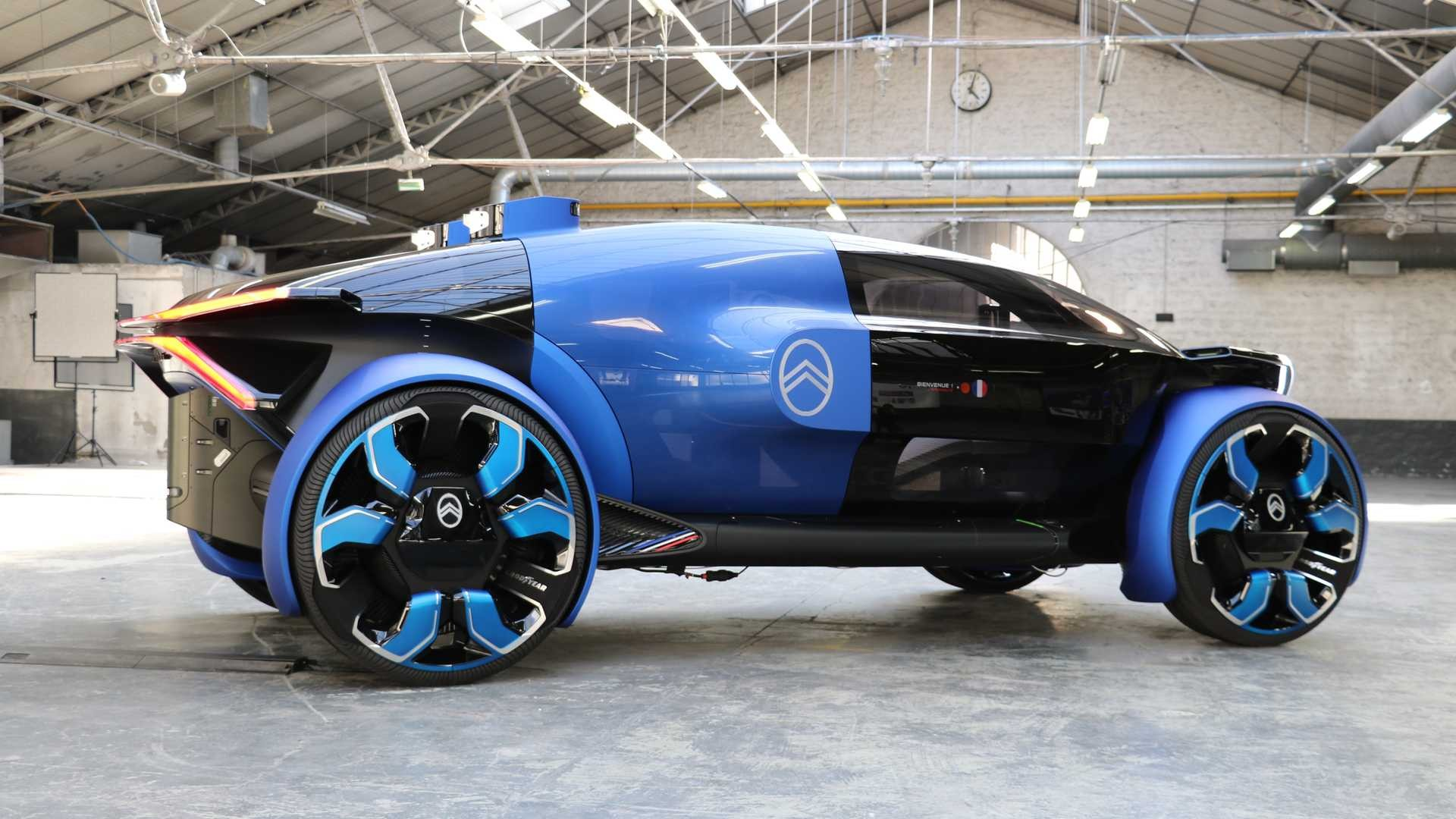 مدل مفهوهی19-19 ؛ خودروی جدید و لوکس سیتروئن + عکس