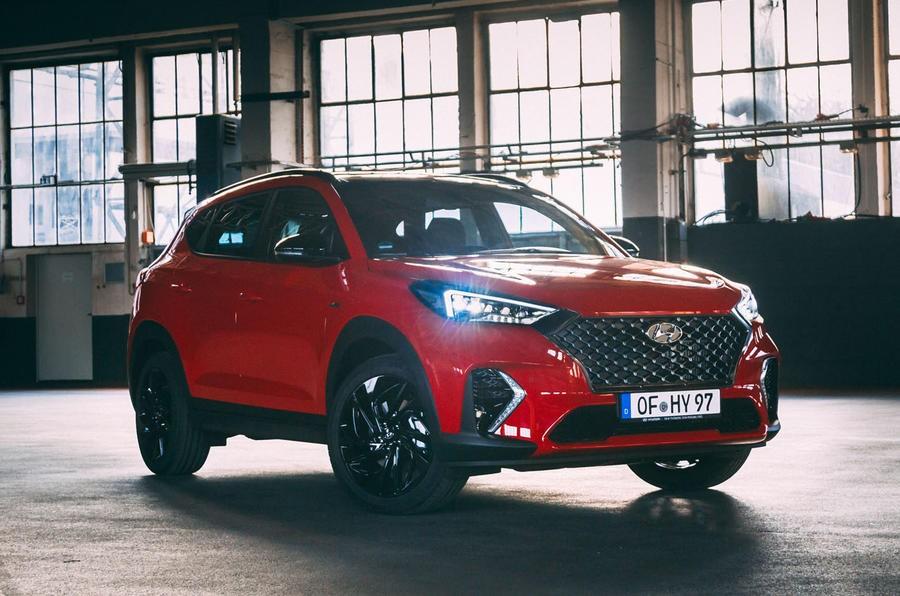 ورود هیوندای توسان N لاین به بازار خودروی انگلستان + عکس