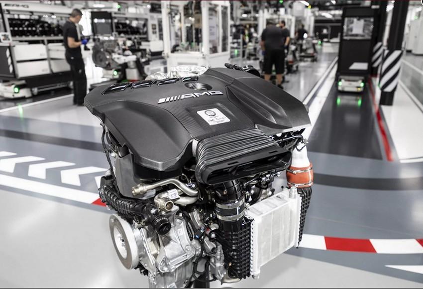 معرفی قدرتمندترین موتور 2.0 لیتری چهار سیلندر دنیا توسط مرسدس AMG + عکس