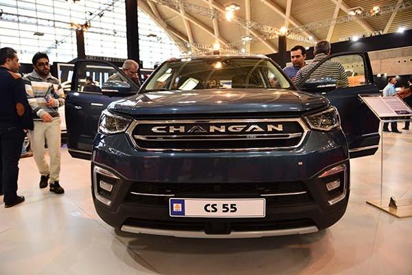 مشاهده خودروی CS55 محصول جذاب چانگان در ایران + عکس
