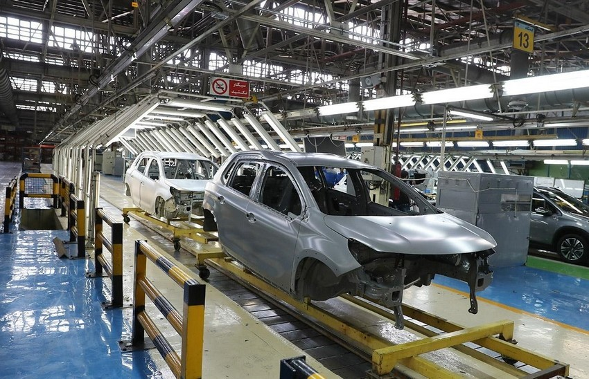 با توقف تولید ، فرصتی کوتاه برای تکمیل خودروهای ناقص اختصاص دهیم