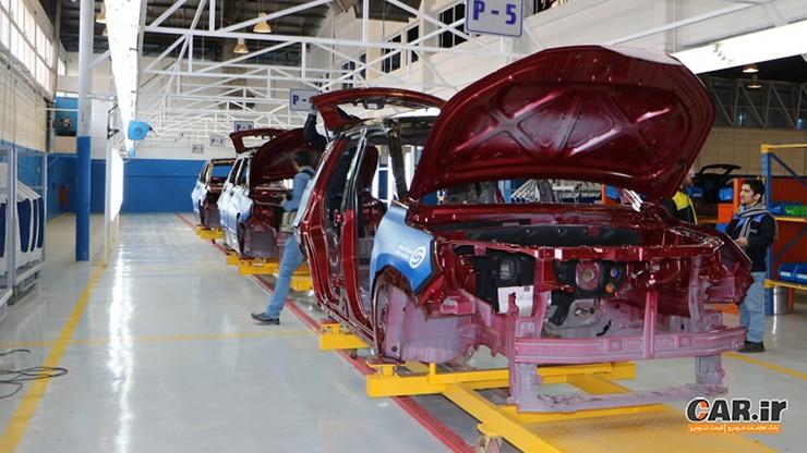 ورشکستگی خودروسازی، سقوط یکپنجم صنایع کشور