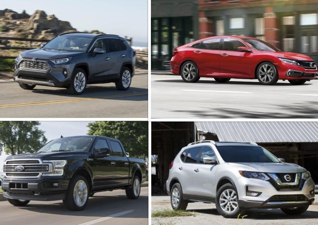 معرفی پرفروشترین خودروهای آمریکا در سال ۲۰۱۹ + عکس