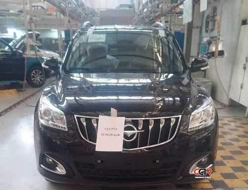 انتشار تصاویری از پروژه هایما S7 پلاس در ایران خودرو