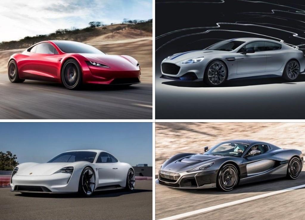 معرفی قدرتمندترین خودروهای تمام برقی دنیا + تصاویر