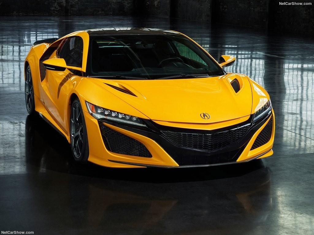 آکورا NSX مدل 2020 با رنگ زرد جدید معرفی  شد + تصاویر