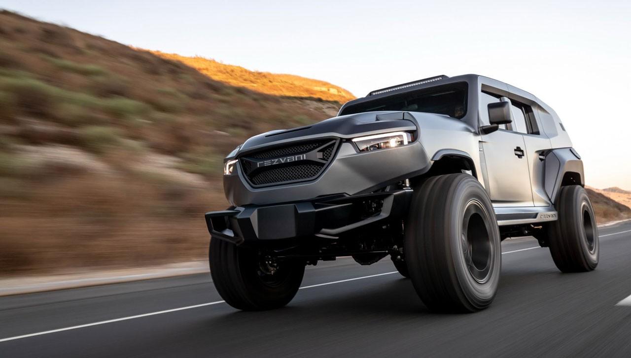 تانک جدید رضوانی مدل 2020، قویترین شاسیبلند تولیدی در دنیا رسما معرفی شد + تصاویر