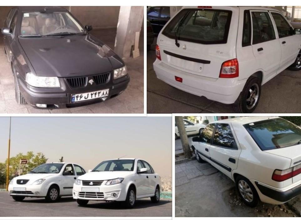 در بازار خودروی کشور با ۵۰ میلیون تومان چه خودروهایی را می توان خرید؟ + جدول