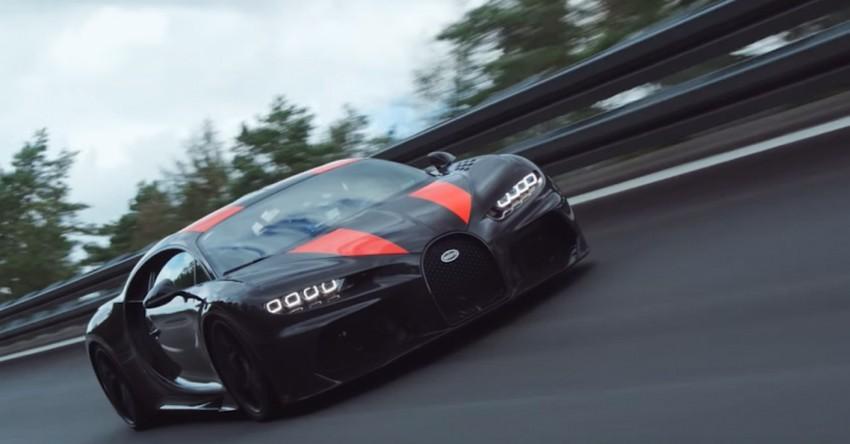 شکسته شدن رکورد سریع ترین خودروی جهان توسط بوگاتی + عکس