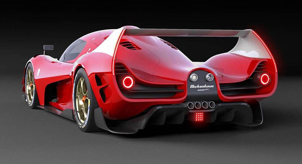 از خودروی جدید SCG برای کلاس هایپرکارهای WEC رونمایی شد + عکس