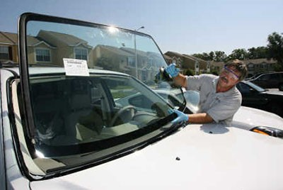 آشنایی با چگونگی محافظت از شیشه خودرو