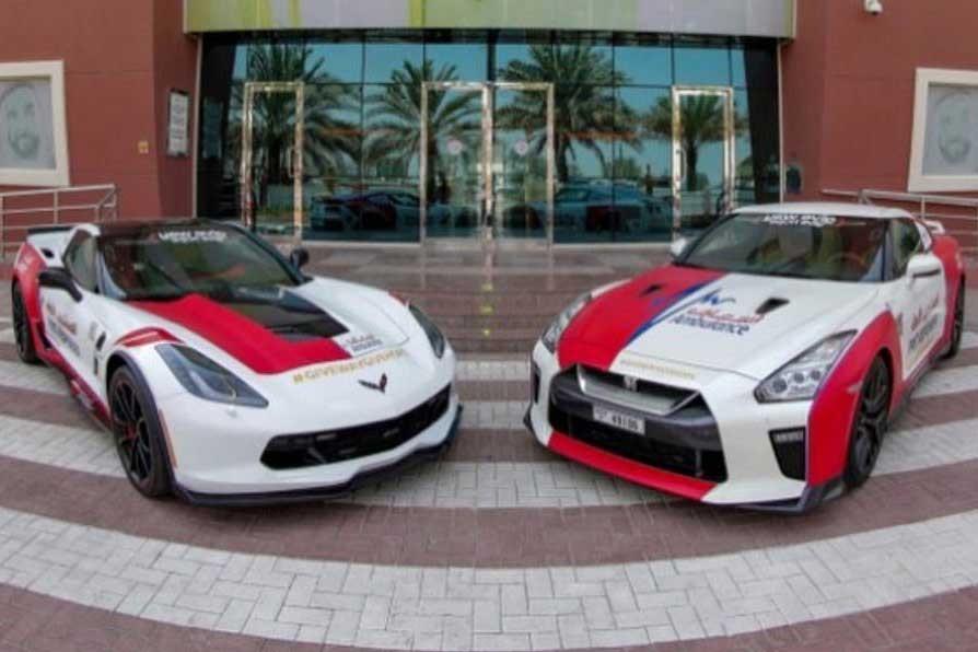 نیسان GT-R و شورلت کوروت به سرویس آمبولانس دبی اضافه شدند! + عکس - 26 مهر 98
