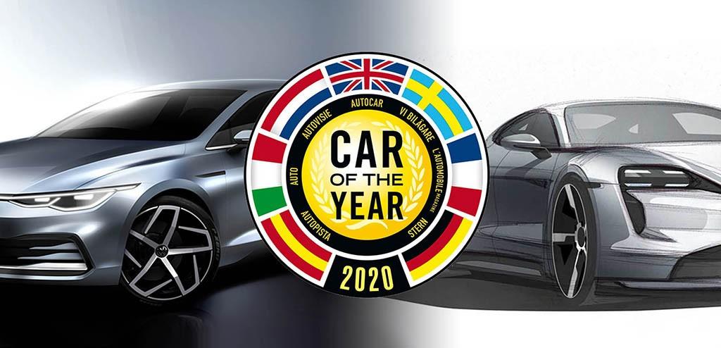 نامزدهای کسب جایزه خودروی سال اروپا 2020 معرفی شدند