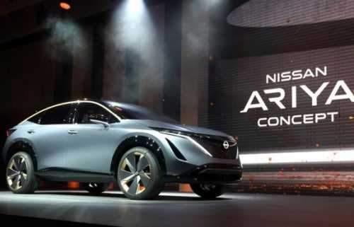 آریا، خودروی جدید نیسان معرفی شد