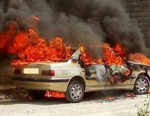 آیا باک خودرو پس از وقوع حریق منفجر می شود!؟