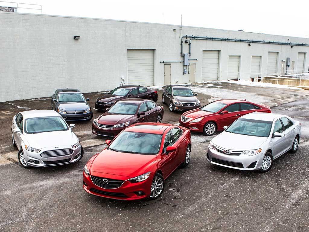 کاهش 50 درصدی سهم سدانهای میان سایز از بازار خودروی آمریکا