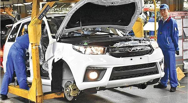 ۷۰ درصد ظرفیت خودروسازی خصوصی تعطیل شد