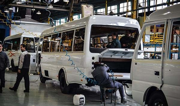 بحران ضعف تولید خودروهای عمومی در کشور