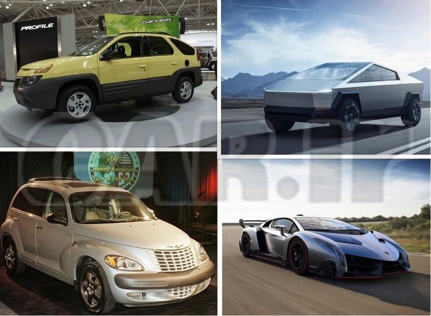 آشنایی با زشتترین خودروهای تاریخ + عکس