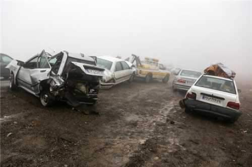 خسارت سوانح جادهای؛ روزانه 280 میلیارد تومان