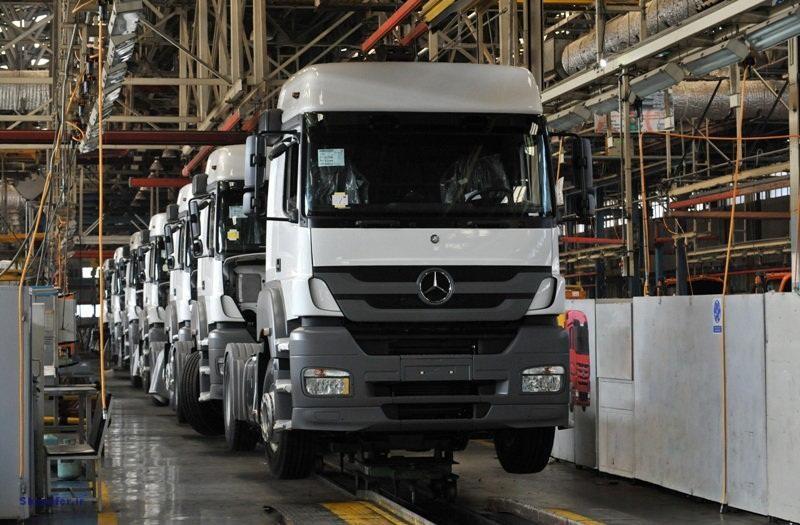 تولید اتوبوس و کامیون در کشور نصف شد+ جدول