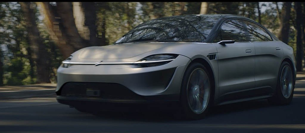 معرفی خودروی الکتریکی ویژن S کانسپت؛ سورپرایز سونی! + عکس
