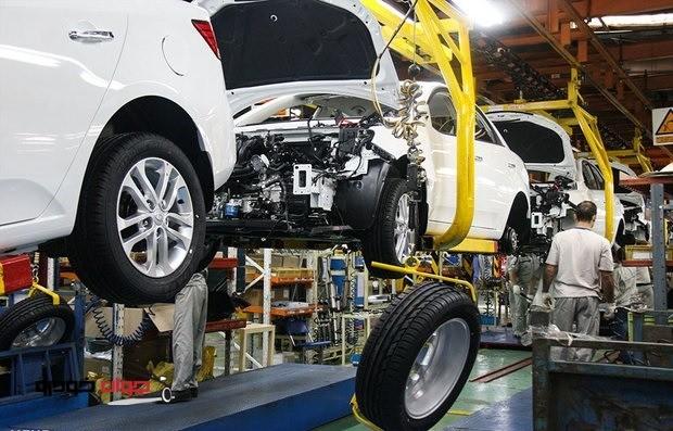 عبور خودروسازی از یخبندان تولید با افزایش تیراژ تولید خودروهای سواری